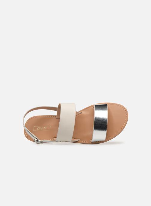 Sandales et nu-pieds ONLY onlMANDALA MIX SANDAL Blanc vue gauche