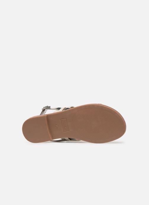 Sandales et nu-pieds ONLY onlMANDALA MIX SANDAL Blanc vue haut