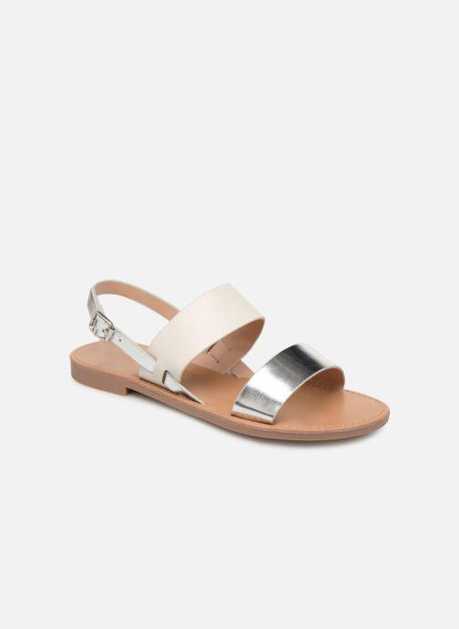 Sandales et nu-pieds ONLY onlMANDALA MIX SANDAL Blanc vue détail/paire