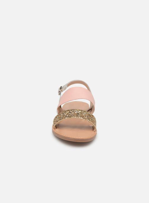 Sandales et nu-pieds ONLY onlMANDALA MIX SANDAL Or et bronze vue portées chaussures