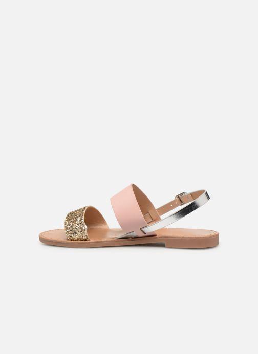 Sandales et nu-pieds ONLY onlMANDALA MIX SANDAL Or et bronze vue face