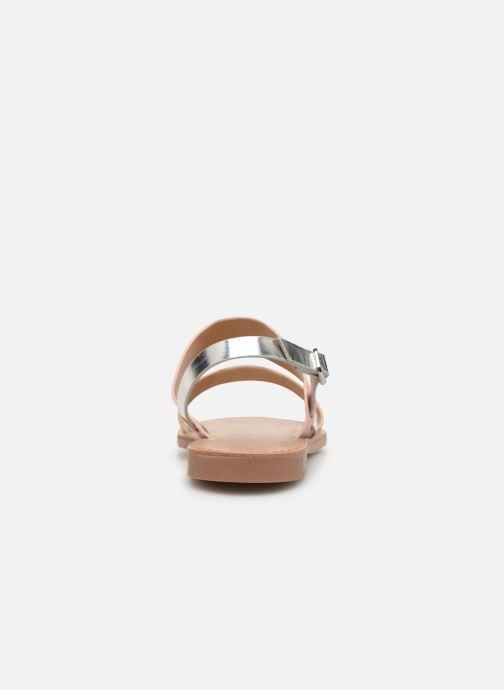 Sandales et nu-pieds ONLY onlMANDALA MIX SANDAL Or et bronze vue droite