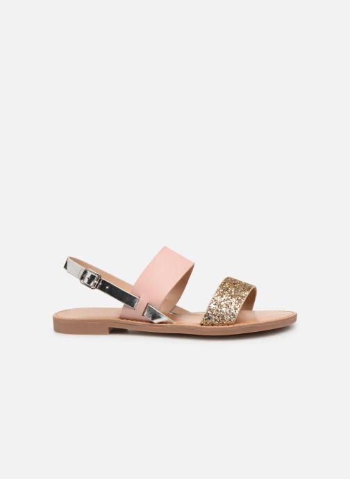 Sandales et nu-pieds ONLY onlMANDALA MIX SANDAL Or et bronze vue derrière