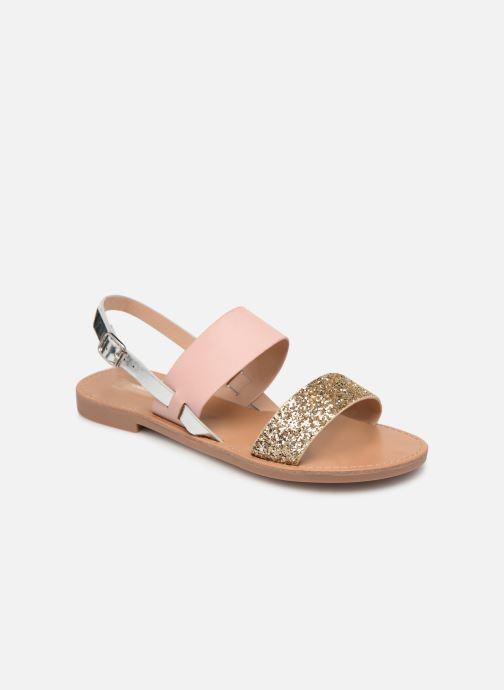 Sandales et nu-pieds ONLY onlMANDALA MIX SANDAL Or et bronze vue détail/paire