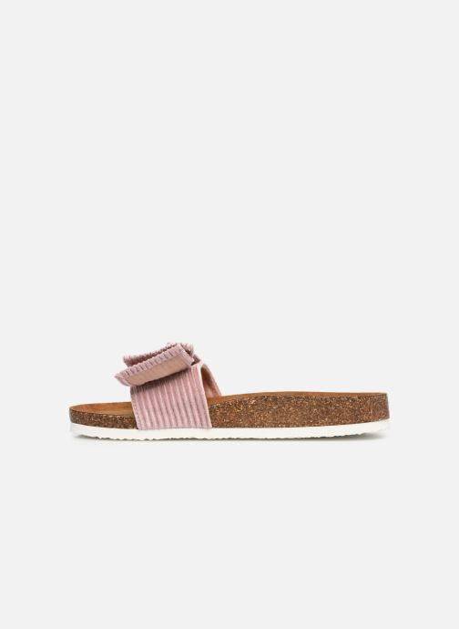 Zoccoli ONLY onlMATHILDA BOW SLIP ON Rosa immagine frontale