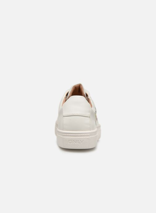 Baskets ONLY onlSAGE EMBROIDERY SNEAKER Blanc vue droite