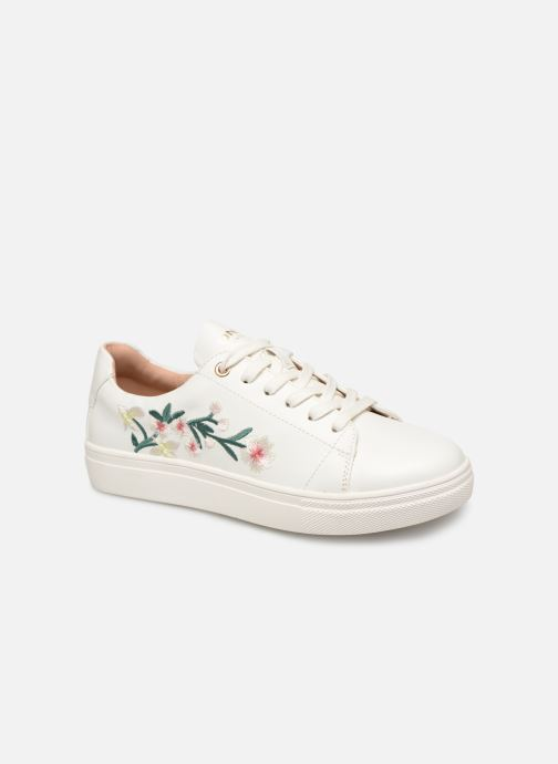 Baskets ONLY onlSAGE EMBROIDERY SNEAKER Blanc vue détail/paire
