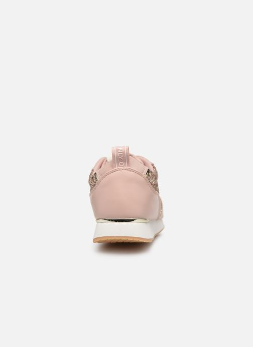 Baskets ONLY onlSILLIE GLITTER SNEAKER Rose vue droite
