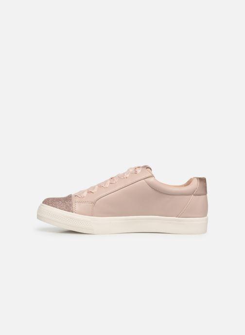 Sneakers ONLY onlSKYE GLITTER TOE CAP SNEAKER Roze voorkant