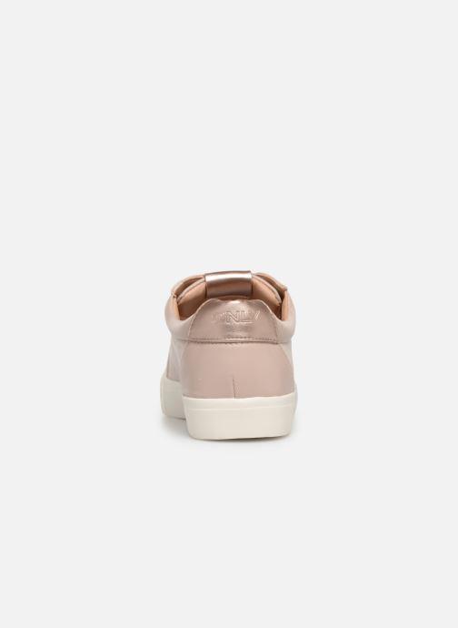 Sneakers ONLY onlSKYE GLITTER TOE CAP SNEAKER Roze rechts