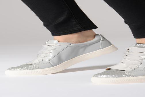 Sneakers ONLY onlSKYE GLITTER TOE CAP SNEAKER Azzurro immagine dal basso