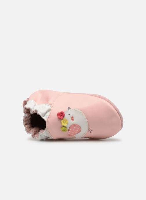 Slippers Robeez Cutie Bird Pink view from the left