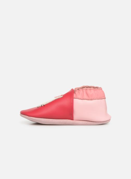 Chaussons Robeez Cathie Rouge vue face