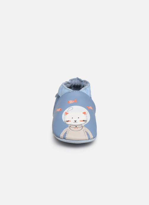 Slippers Robeez Sea Cat Blue model view