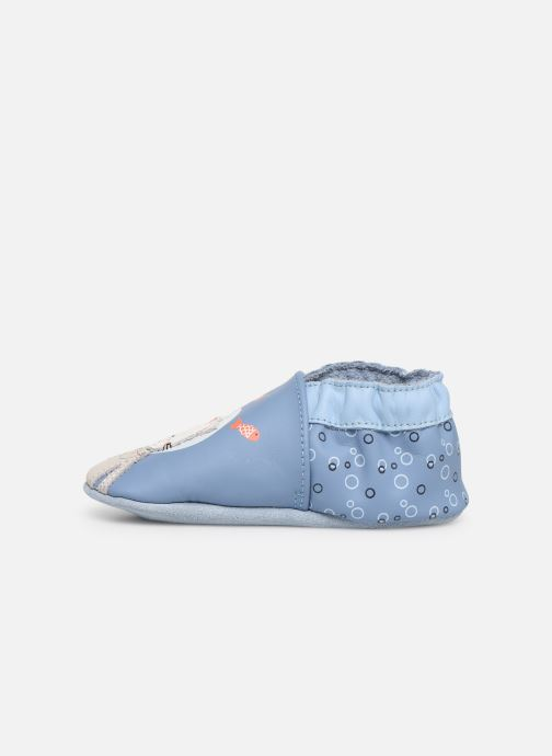 Chaussons Robeez Sea Cat Bleu vue face