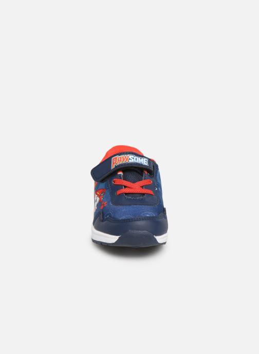 Baskets Pat Patrouille Gargouille Bleu vue portées chaussures
