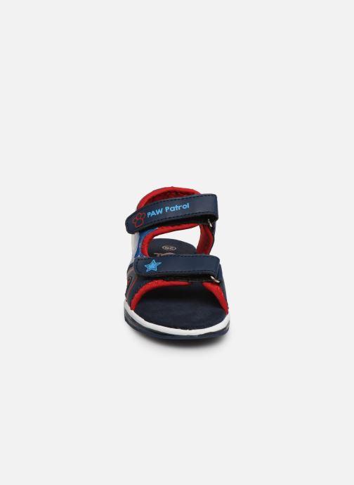 Sandales et nu-pieds Pat Patrouille Yahoo Bleu vue portées chaussures