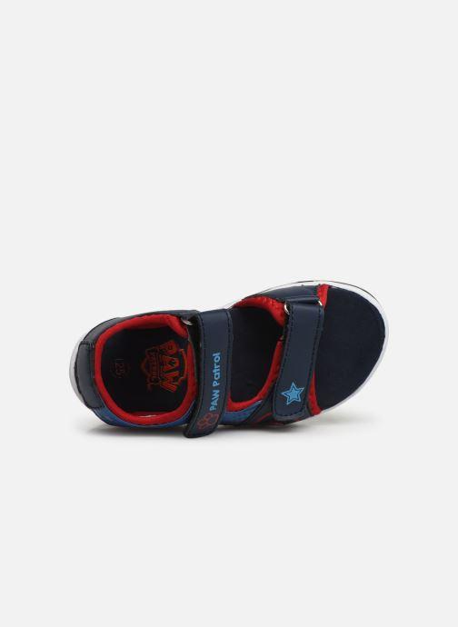 Sandales et nu-pieds Pat Patrouille Yahoo Bleu vue gauche