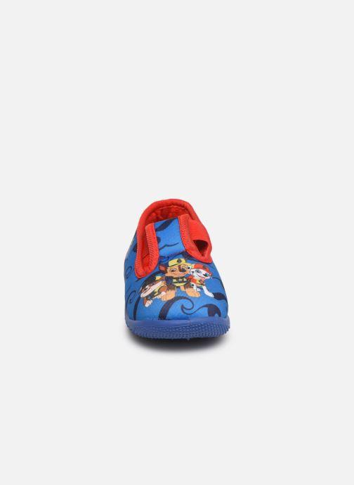 Chaussons Pat Patrouille Skippy Bleu vue portées chaussures