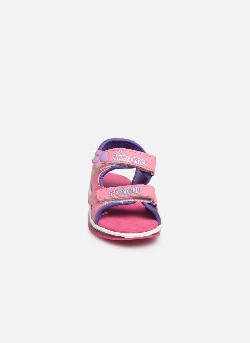 Sandales et nu-pieds Pat Patrouille Nonette Rose vue portées chaussures