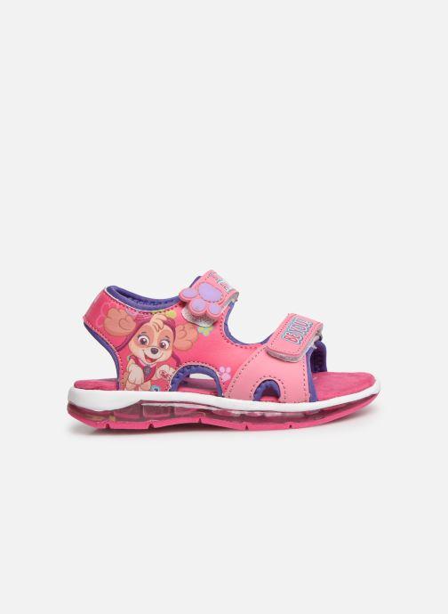 Sandales et nu-pieds Pat Patrouille Nonette Rose vue derrière