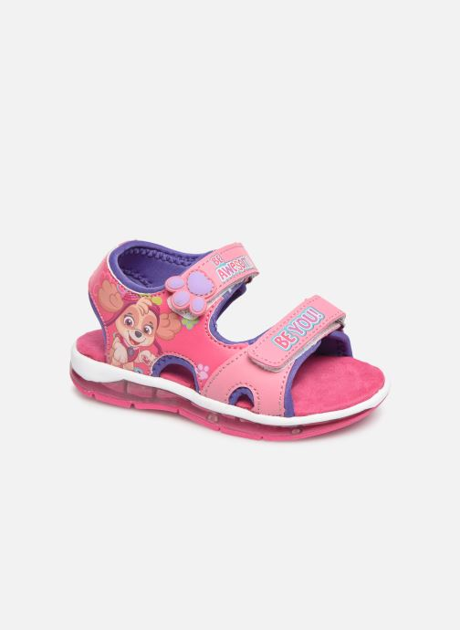 Sandals Pat Patrouille Nonette Pink detailed view/ Pair view