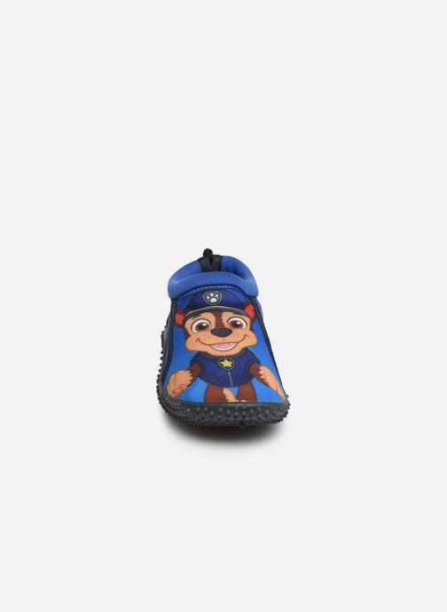 Pantofole Pat Patrouille Narcisse Azzurro modello indossato