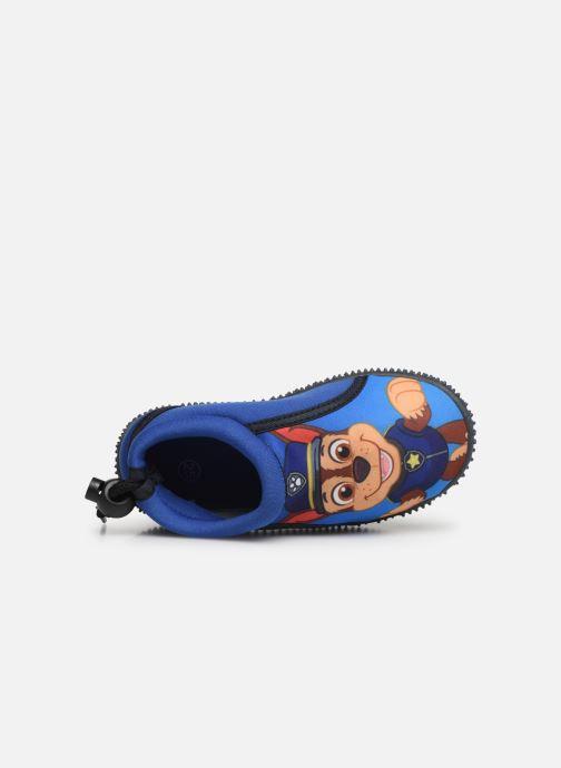 Pantoffels Pat Patrouille Narcisse Blauw links