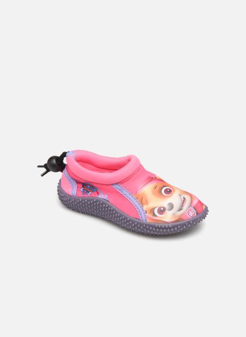 Hjemmesko Pat Patrouille Narcisse Pink detaljeret billede af skoene
