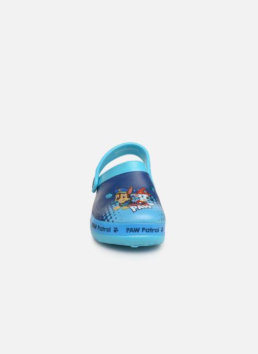 Sandales et nu-pieds Pat Patrouille District Bleu vue portées chaussures