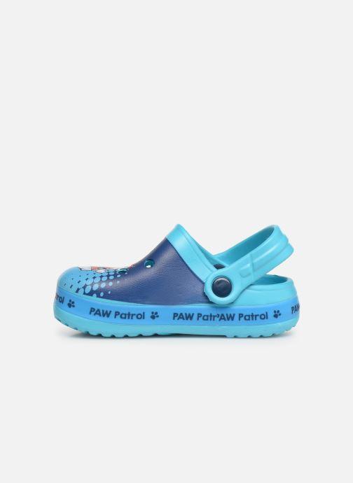 Sandales et nu-pieds Pat Patrouille District Bleu vue face