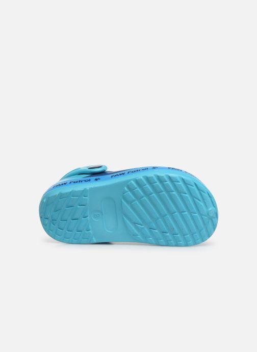 Sandales et nu-pieds Pat Patrouille District Bleu vue haut