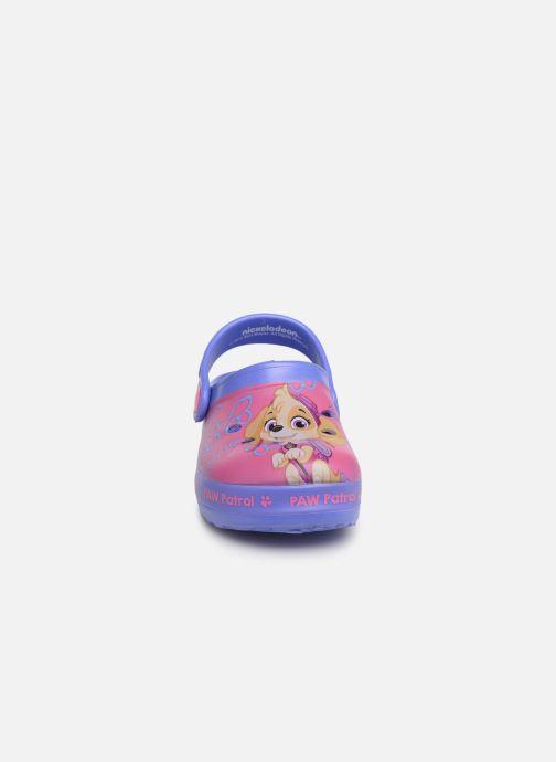 Sandales et nu-pieds Pat Patrouille Dieppe Rose vue portées chaussures
