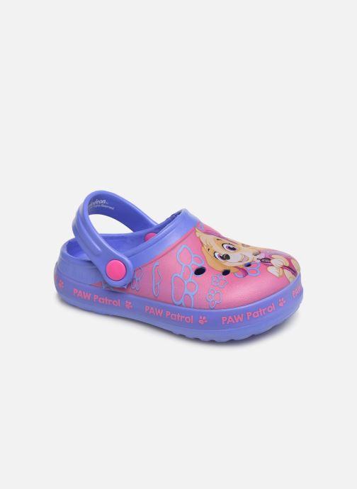 Sandales et nu-pieds Pat Patrouille Dieppe Rose vue détail/paire