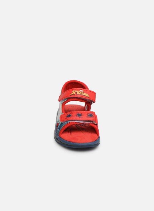 Sandales et nu-pieds Spiderman Youri Bleu vue portées chaussures