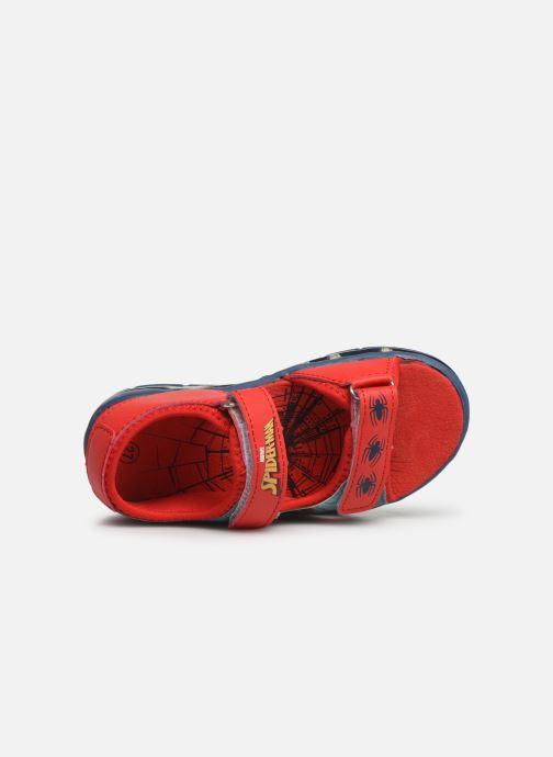 Sandales et nu-pieds Spiderman Youri Bleu vue gauche