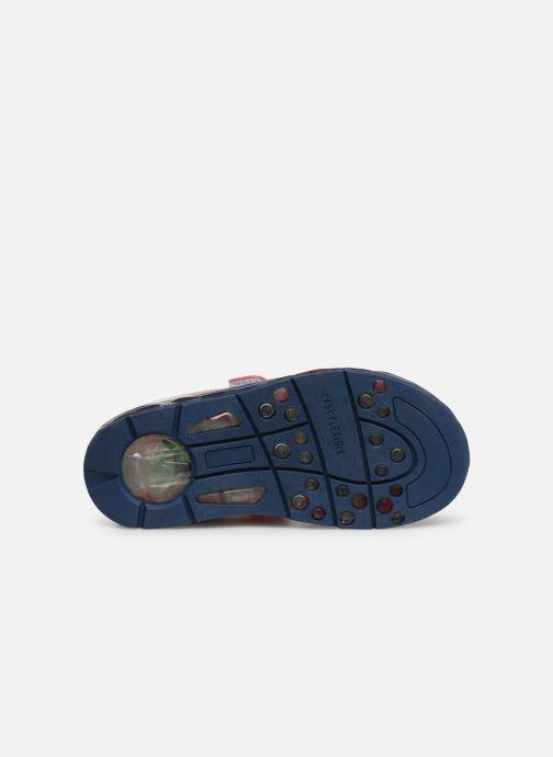 Sandales et nu-pieds Spiderman Youri Bleu vue haut