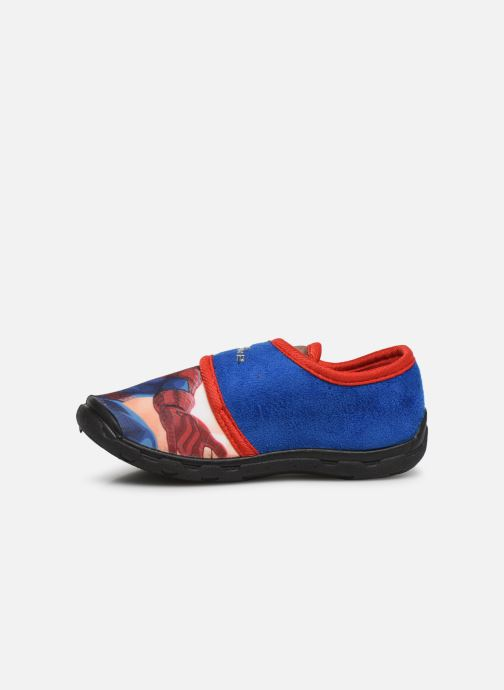 Slippers Spiderman Sabre Blue front view