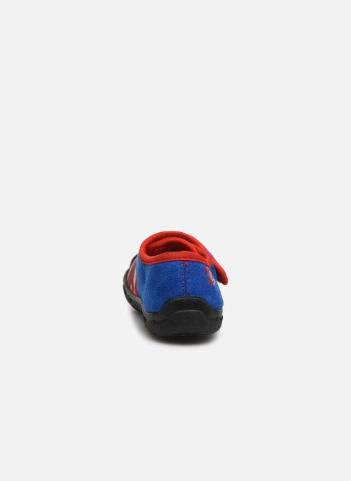Chaussons Spiderman Sabre Bleu vue droite