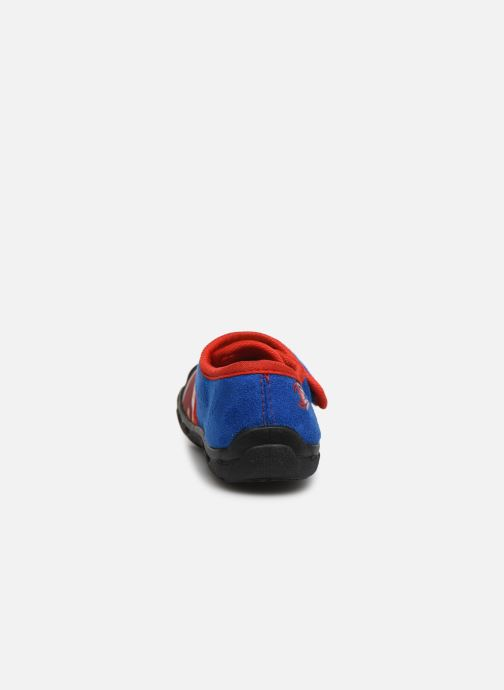Slippers Spiderman Sabre Blue view from the right