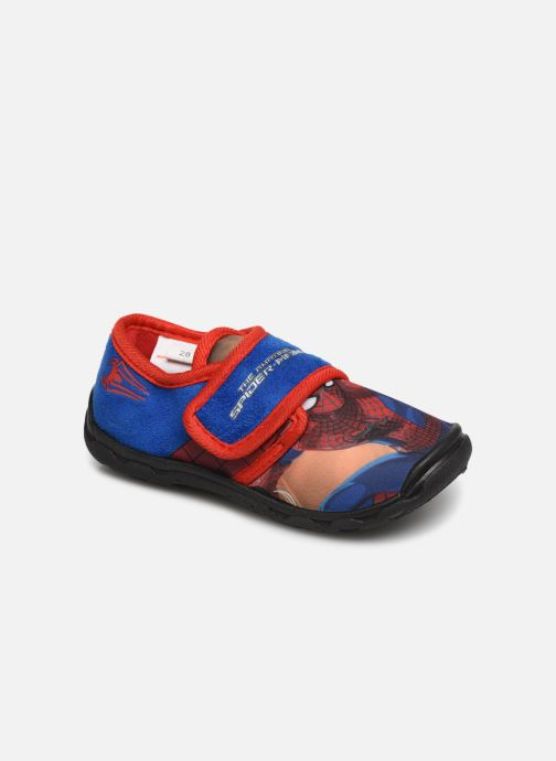 Slippers Spiderman Sabre Blue detailed view/ Pair view