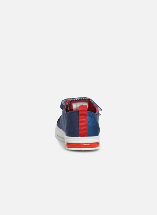 Sneakers Spiderman Nebraska Azzurro immagine destra