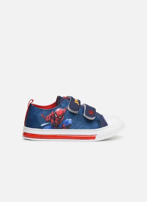 Baskets Spiderman Nebraska Bleu vue derrière