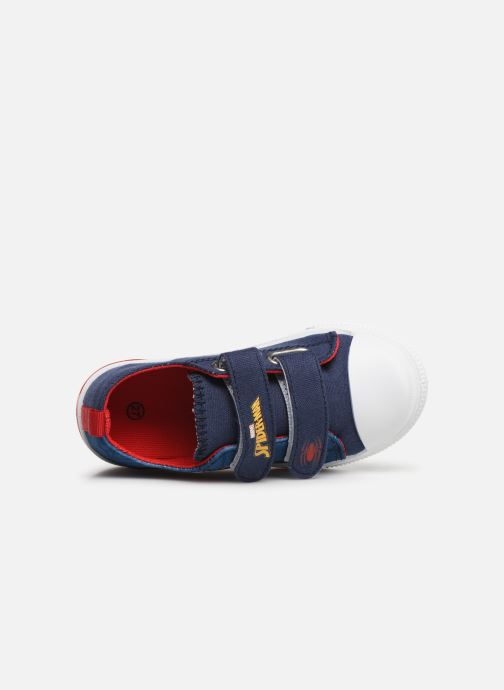Baskets Spiderman Nebraska Bleu vue gauche