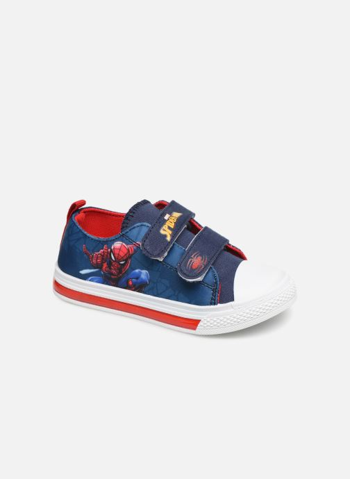 Baskets Spiderman Nebraska Bleu vue détail/paire