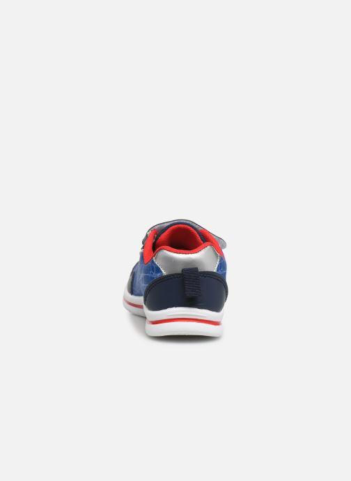Sneakers Spiderman Nombre Azzurro immagine destra