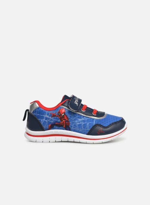 Baskets Spiderman Nombre Bleu vue derrière