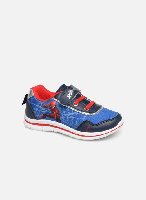 Baskets Spiderman Nombre Bleu vue détail/paire