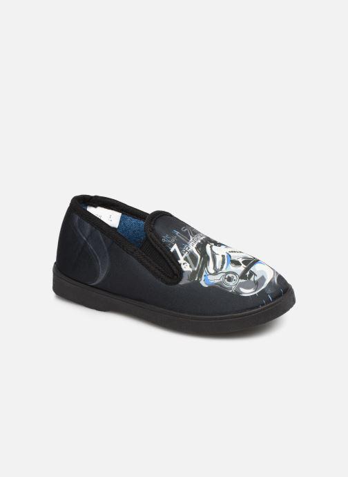 Hjemmesko Star Wars SCRIPT Sort detaljeret billede af skoene