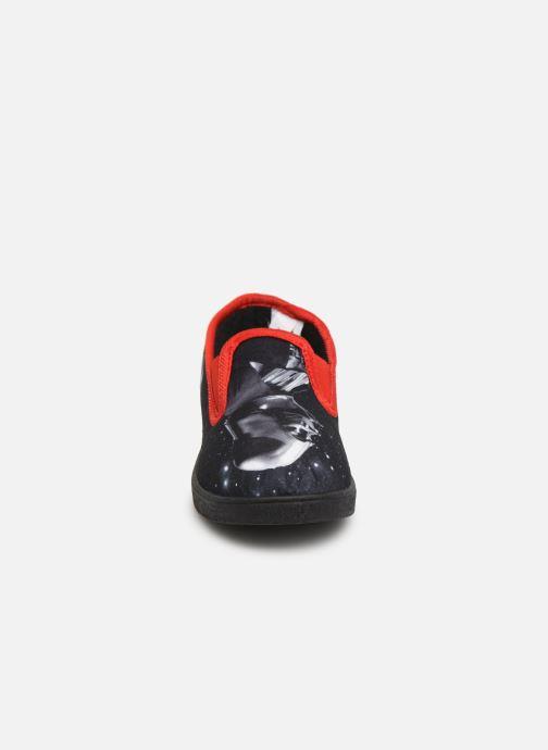 Chaussons Star Wars SCRIPT Rouge vue portées chaussures